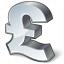 Symbol Pound Icon 64x64