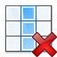 Table Column Delete Icon 64x64