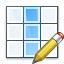 Table Column Edit Icon 64x64