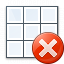 Table Error Icon 64x64