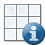 Table Information Icon 64x64