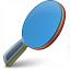 Table Tennis Racket Icon 64x64