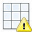 Table Warning Icon 64x64