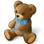 Teddy Bear Icon 64x64