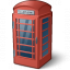 Telephone Box Icon 64x64