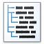 Text Tree Icon 64x64