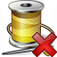 Thread Delete Icon 64x64