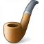 Tobacco Pipe Icon 64x64