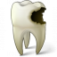 Tooth Carious Icon 64x64