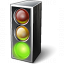 Trafficlight Green Icon 64x64
