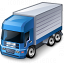 Truck Blue Icon 64x64