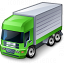 Truck Green Icon 64x64