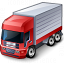 Truck Red Icon 64x64