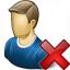 User Delete Icon 64x64