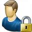 User Lock Icon 64x64
