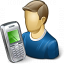 User Mobilephone Icon 64x64