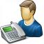 User Telephone Icon 64x64