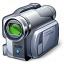 Videocamera Icon 64x64