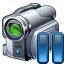 Videocamera Pause Icon 64x64