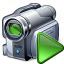 Videocamera Run Icon 64x64