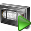 Videotape Run Icon 64x64