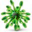 Virus Icon 64x64
