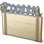 Wall Barbed Wire Icon 64x64