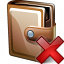 Wallet Closed Delete Icon 64x64