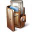 Wallet Open Icon 64x64