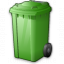 Waste Container Green Icon 64x64