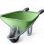 Wheelbarrow Icon 64x64