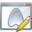 Window Application Edit Icon 64x64