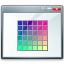 Window Colors Icon 64x64