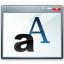 Window Font Icon 64x64