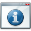 Window Information Icon 64x64