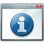 Window Information Icon 64x64