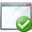 Window Ok Icon 64x64