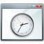 Window Time Icon 64x64