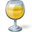 Wine White Glass Icon 64x64