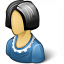 Woman Icon 64x64
