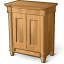 Wooden Cabinet Icon 64x64