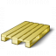 Wooden Pallet Empty Icon 64x64